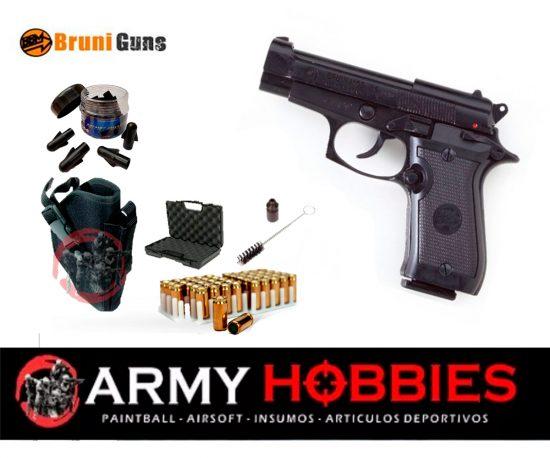 Pistola de fogueo Bruni M85