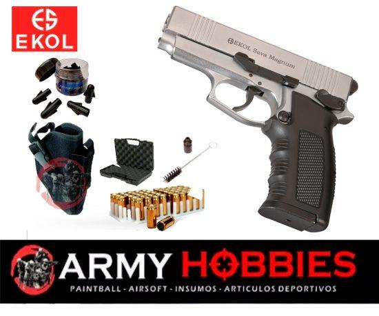 Pistola de fogueo Ekol Sava Magnum