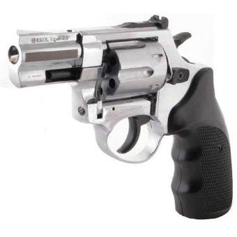 Pistola de fogueo Ekol Viper 2.5 revolver Nickel (3)