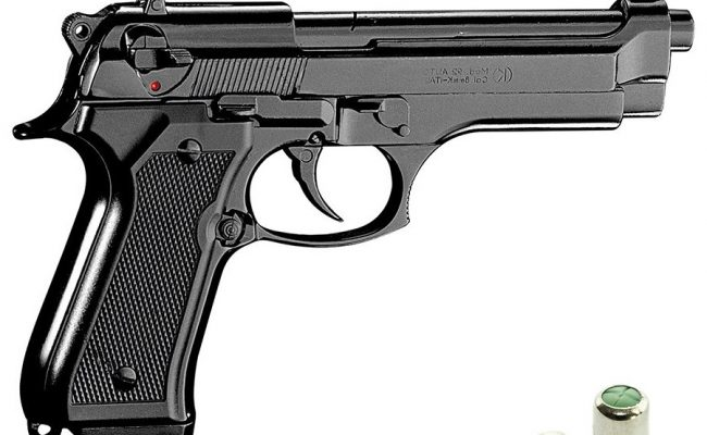 Pistola de fogueo KIMAR 92 Automatica (2)