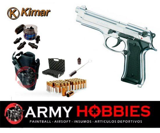 Pistola de fogueo KIMAR 92 Automatica