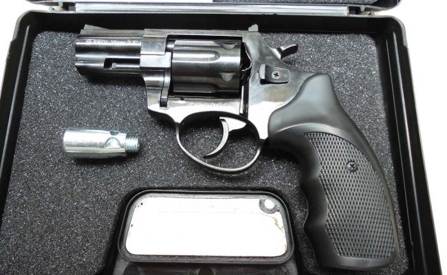 Pistolas de fogueo Ekol Viper 2.5 revolver Negro (3)