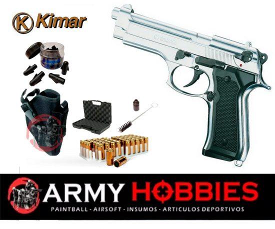 Pistolas de fogueo Kimar-92