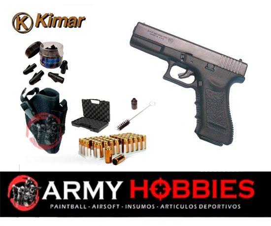 Pistolas de fogueo Kimar-Gap-glock