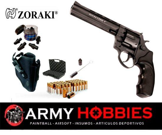 Revolver de fogueo ZORAKI r1- 6