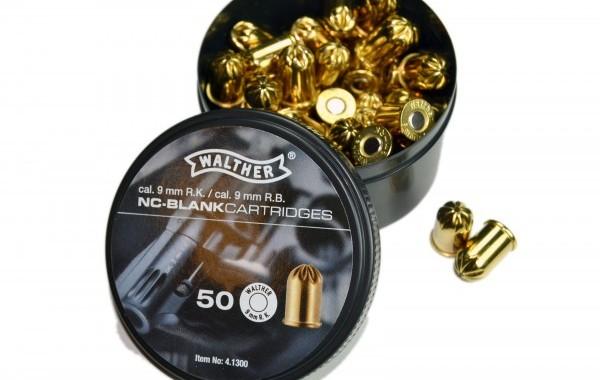 Munición Detonadora Fogueo 380 9 MM. Walther Revolver