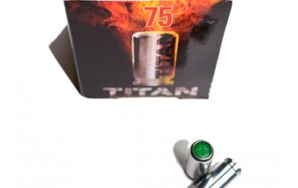 Munición Detonadora-Fogueo Perfecta Titan 9mm P.A.K (75 uds)