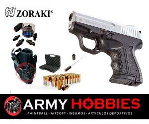 Pistola-de-fogueo-ZORAKI-cromada-M2807