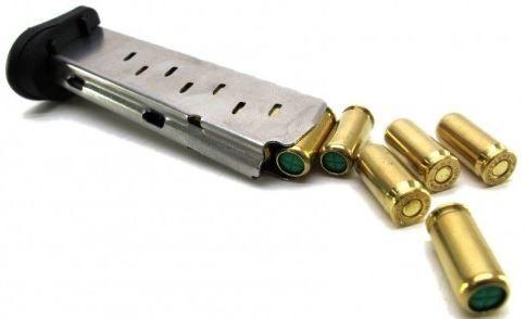 pistola de salva