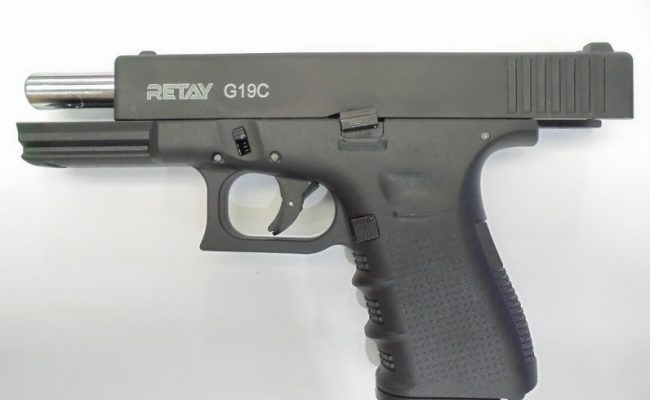 Pistolas de fogueo Retay G19 C Cal 9mm (2)