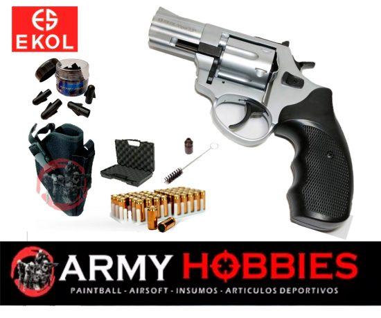 Ekol Viper 2.5 revolver Nickel